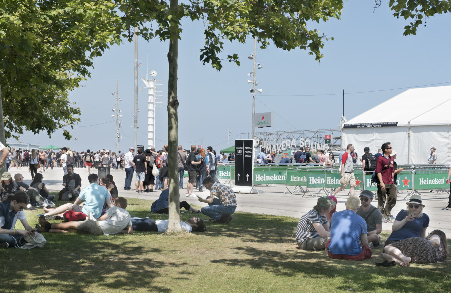 Festival Primavera Sound - Ambiente exterior