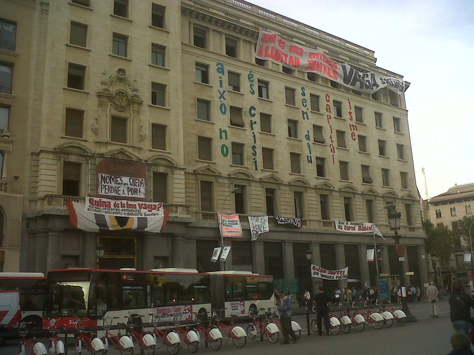Banesto Building in Barcelona