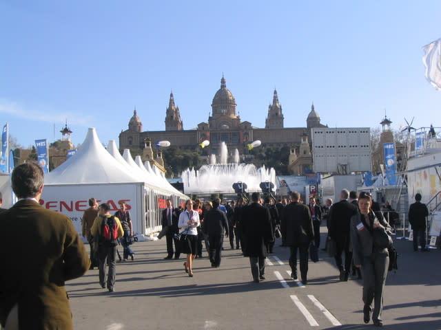 MWC en la Fira de Barcelona