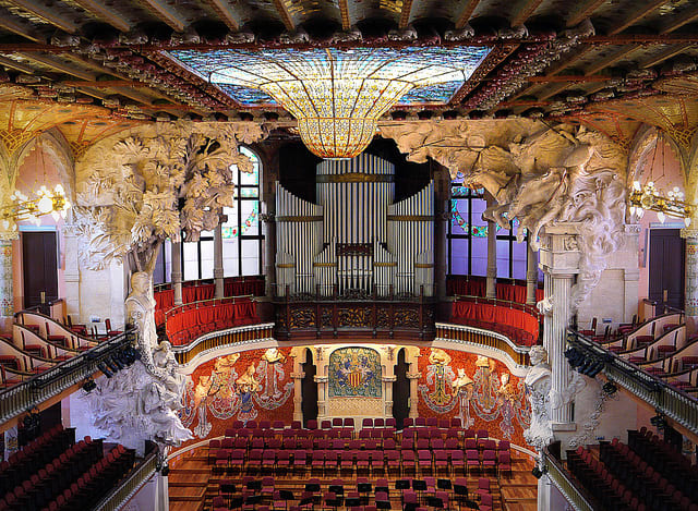 The Palace of Catalan Music