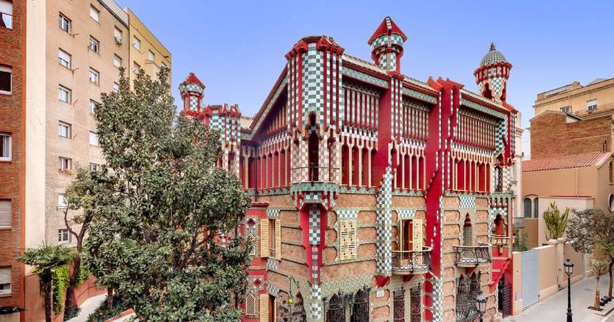 Neighbourhood of Gràcia - Casa Vicens