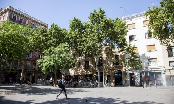 Plaça del Diamant - Neighbourhood of Gràcia