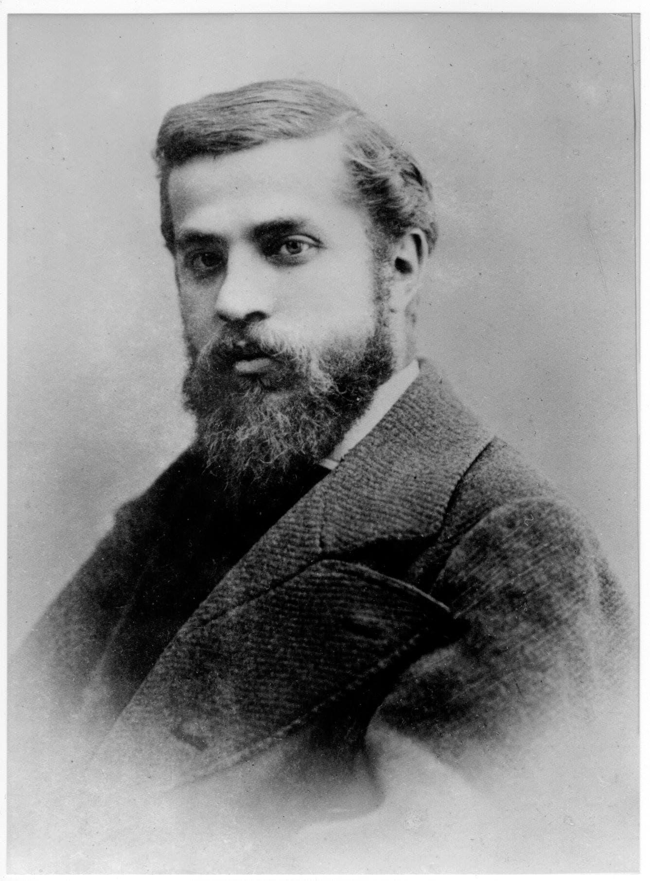 Vintage photo of Antoni Gaudí