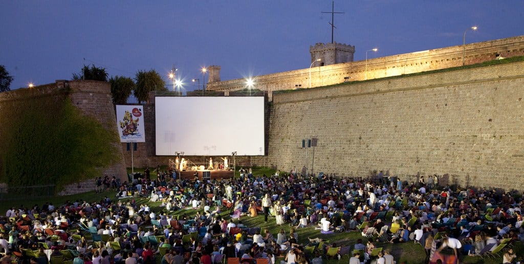 Cinema a la fresca - June in Barcelona