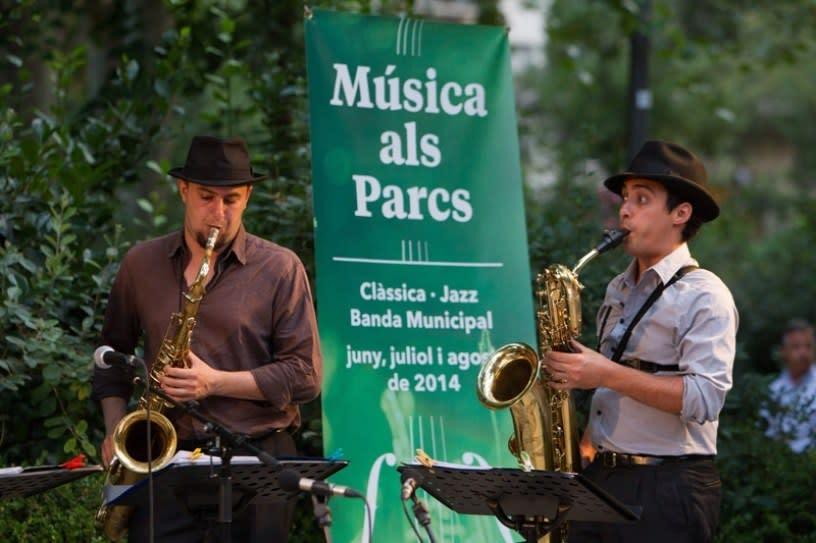 Música als Parcs - Barcelona in June