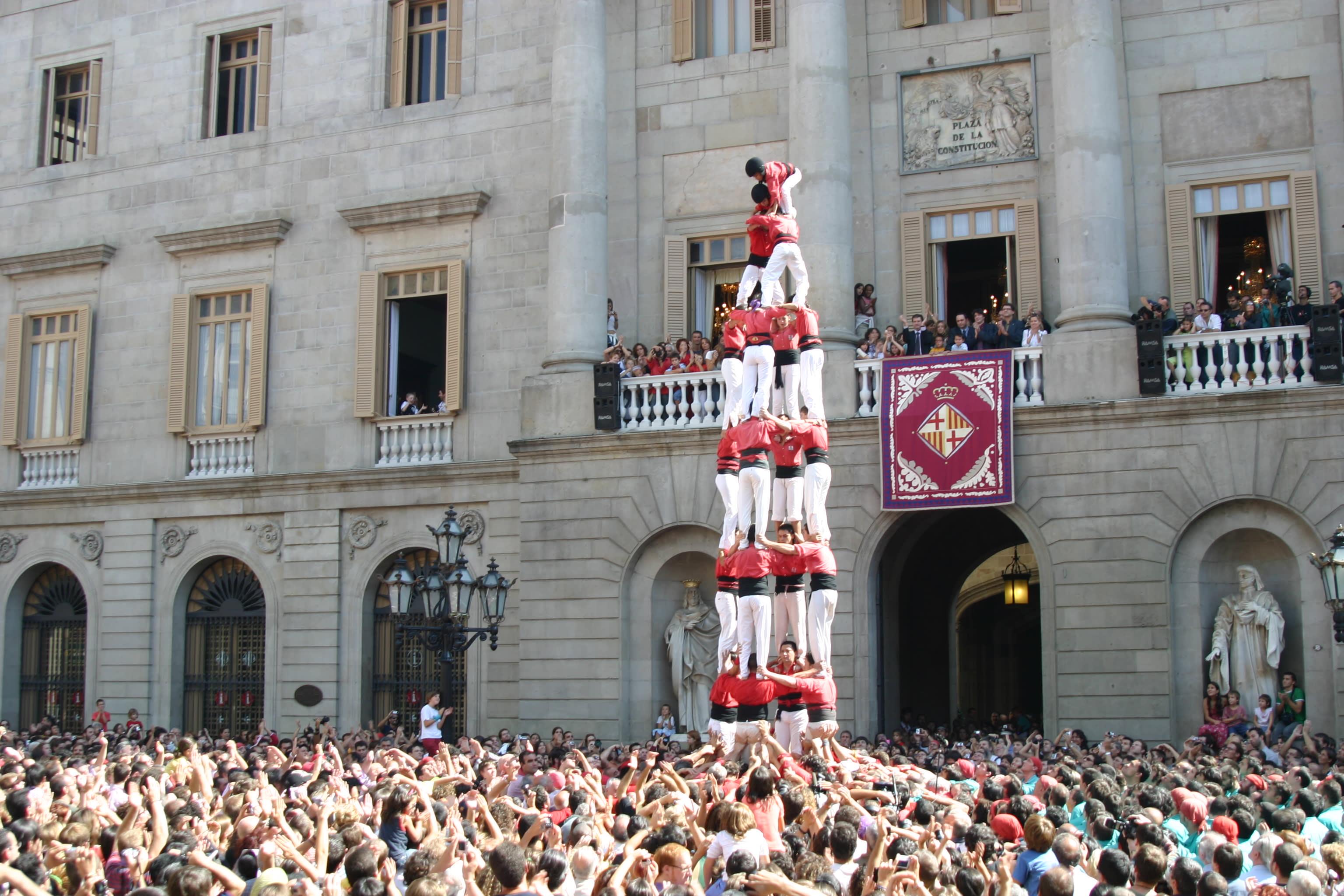 Festes Majors in Barcelona
