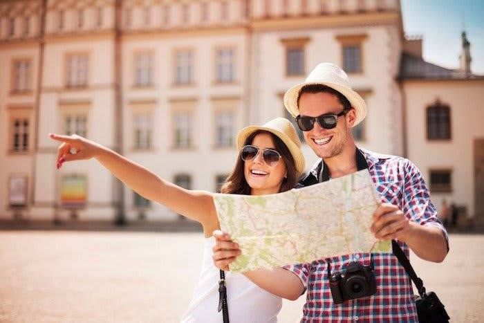 Read our Barcelona safety tips - stopping in the middle of the road to look at a big map makes you an obvious target