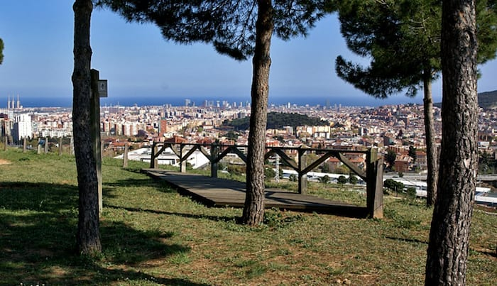 best viewpoints in barcelona - Mirador d'Horta - Viewpoint Barcelona