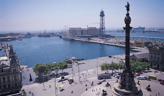 Mirador de Colom - Barcelona viewpoints