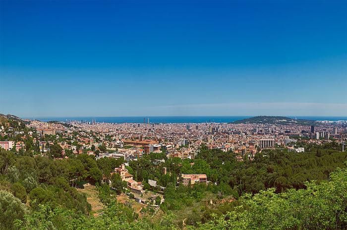 best viewpoints in barcelona - Mirador de Sarrià