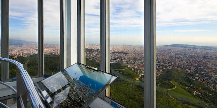 best viewpoints in barcelona - Mirador Torre de Collserola
