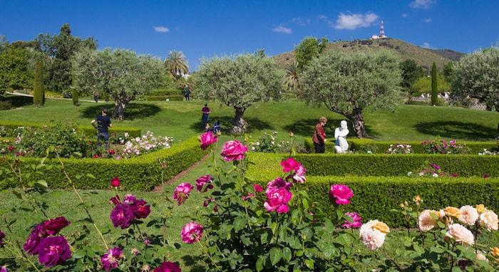 Parks in Barcelona - Parc de Cervantes