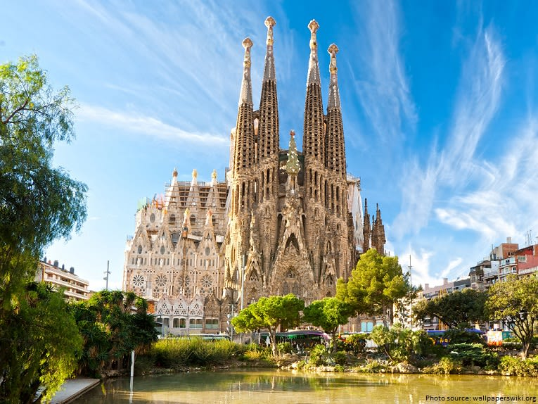 Places to visit in Barcelona - sagrada familia