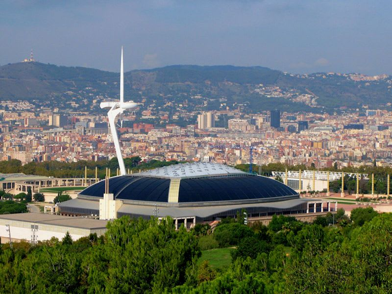 Places to go in Barcelona -Montjuïc Hill