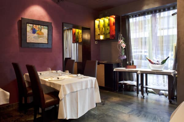 REstaurant Nectari Barcelona michelin star