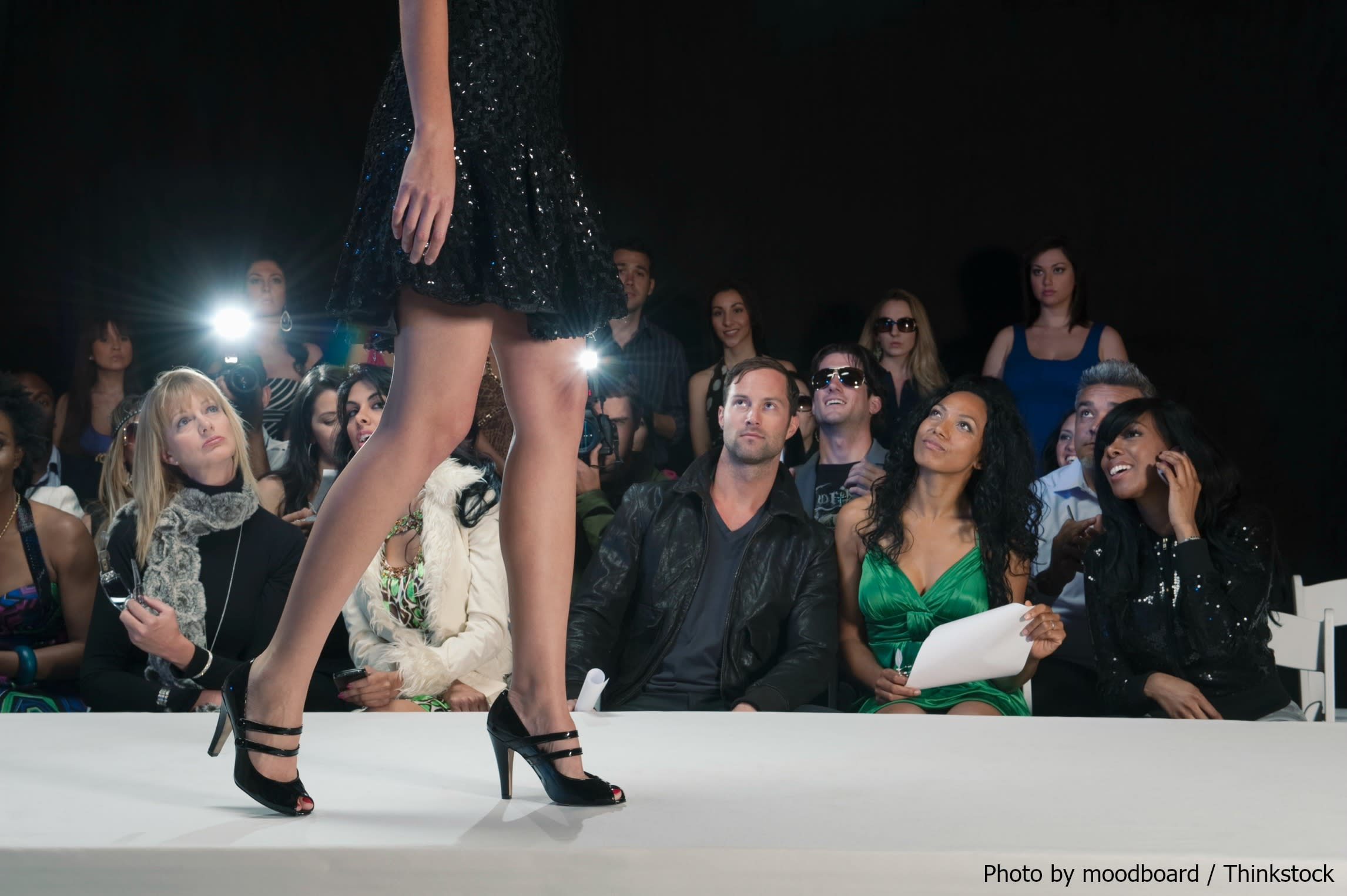 Runway Model at Barcelona Fashion Week
