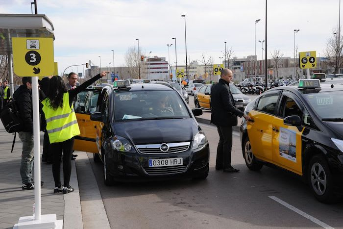 taxis in barcelona