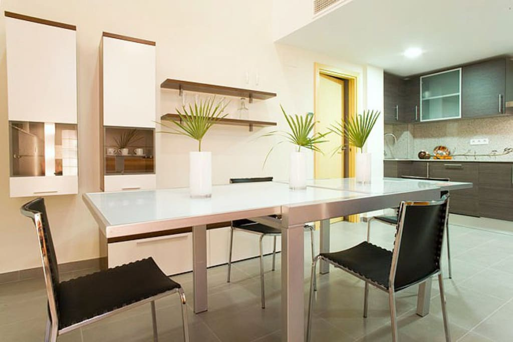 Fully Equipped monthly rental apartment in barcelona