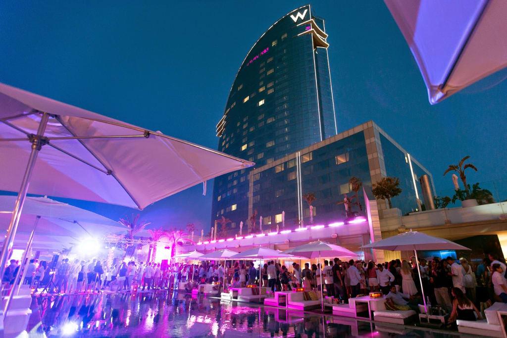Barcelona nightlife - Hotel W