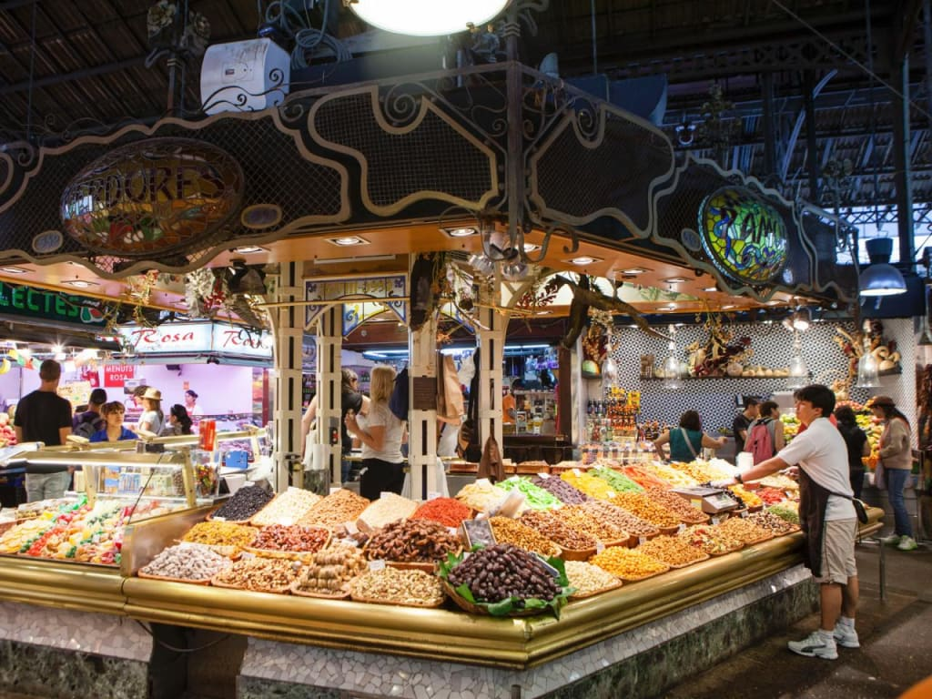 Places to go in Barcelona - La Boqueria Market