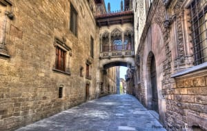 Spend a day at the Barcelona Gothic Quarter