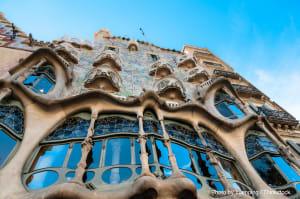 Enjoy the casa de batllo in Barcelona