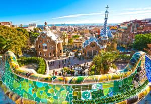 Exploring Park Guell is one of the best things to do in Barcelona