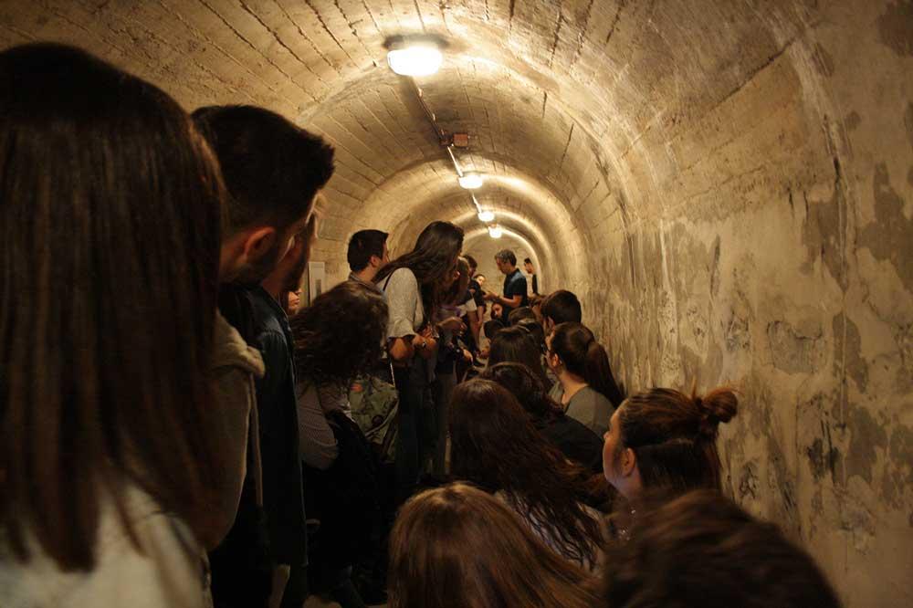 War bunkers in barcelona