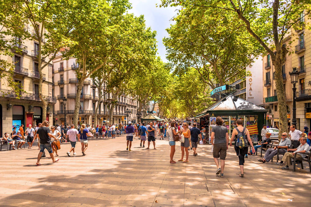 La Rambla - Things to do in Gothic quarter - Things to do in Ciutat Vella
