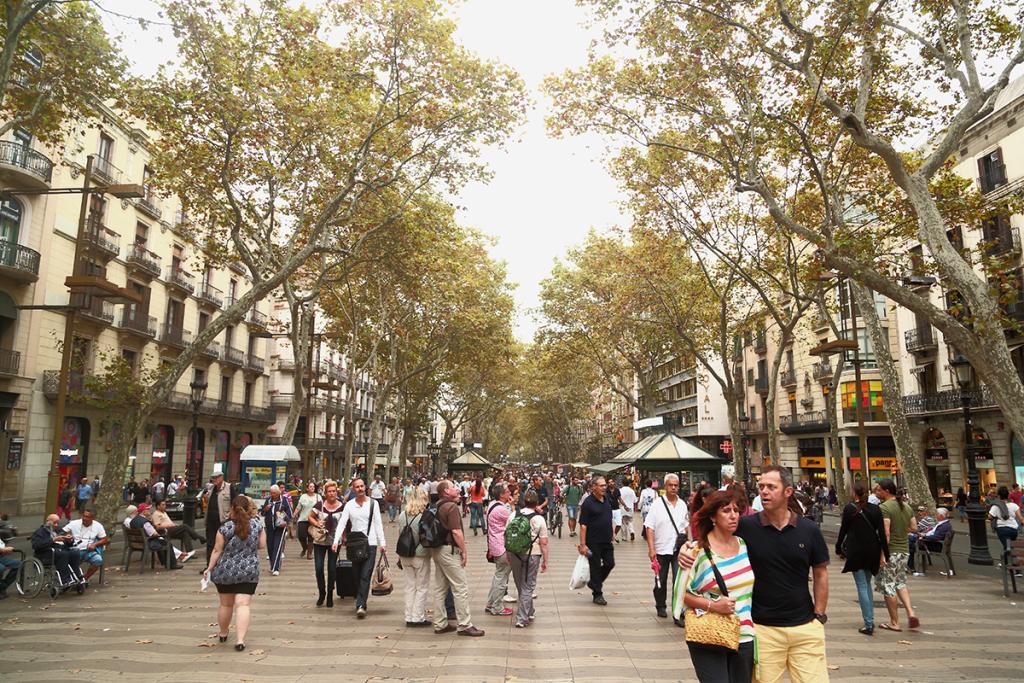 Places to visit in Barcelona - La Rambla