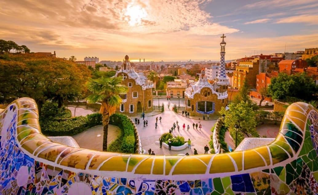Parc Güell - Gaudí Buildings