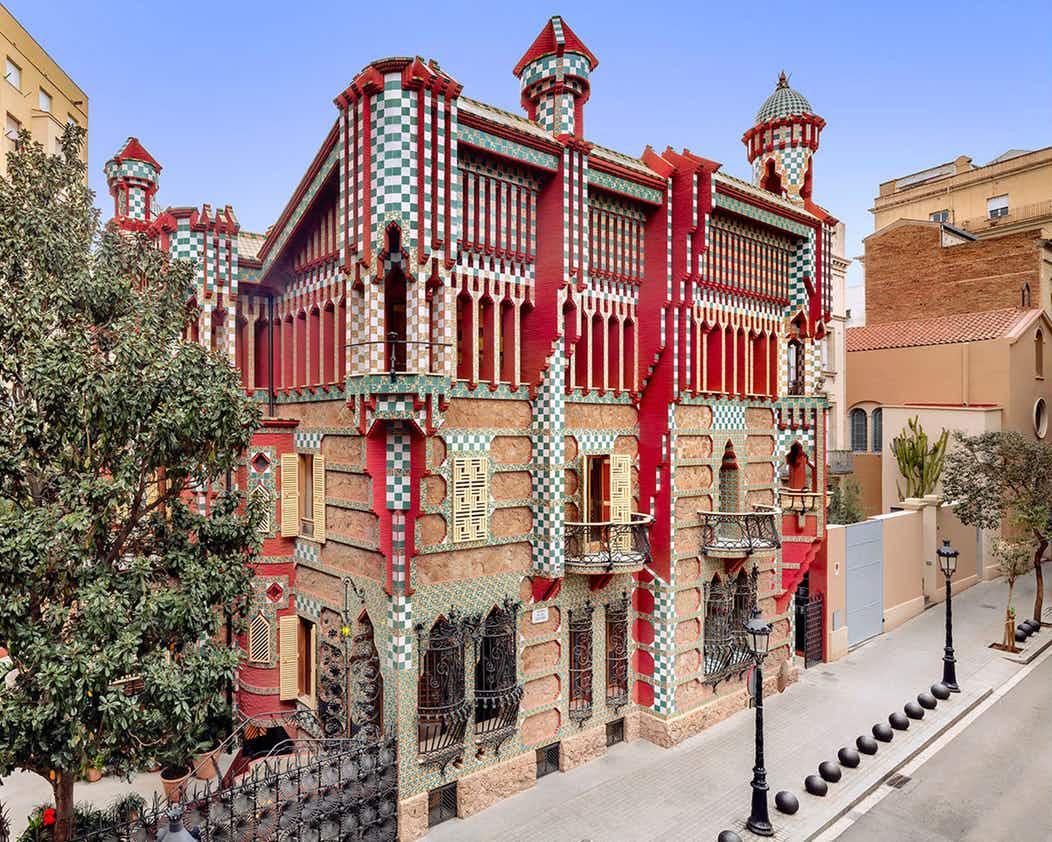 Casa Vicens - Gaudí Bulidings