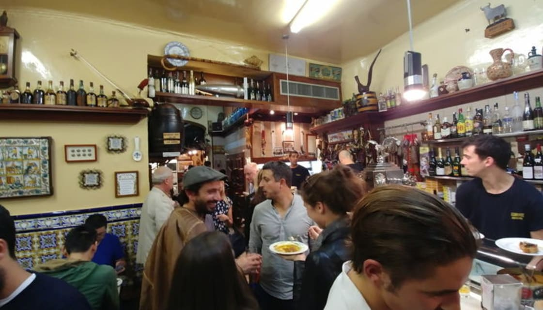 Traditional Bars in Barcelona - El Xampanyet
