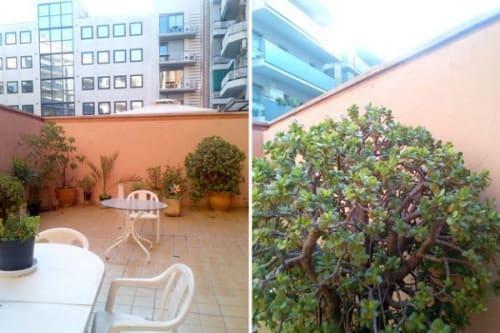 terrace Apartment barcelona