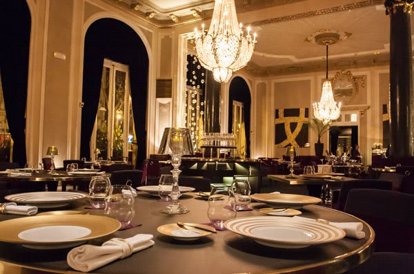 Caelis Barcelona restaurant with one michelin star