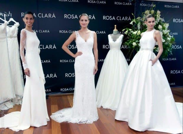 Trajes de Novia Rosa Clará en Barcelona Bridal Week
