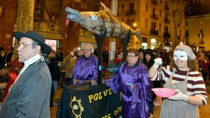 Enterrament de la Sardina - Barcelona carnival