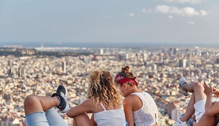 best viewpoints in barcelona - Mirador Tuó de la Rovira - Búnkers del Carmel