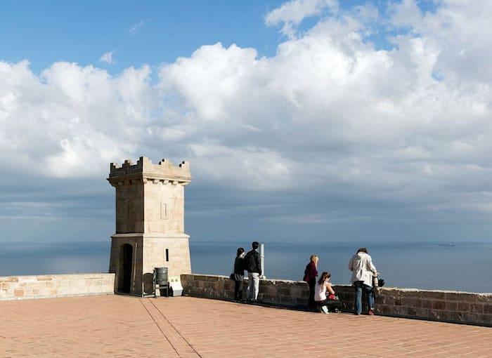 best viewpoints in Barcelona - Mirador Montjuïc Castle