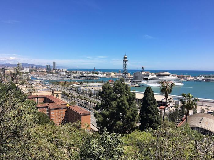 best viewpoints in barcelona - Mirador Jardins de Miramar