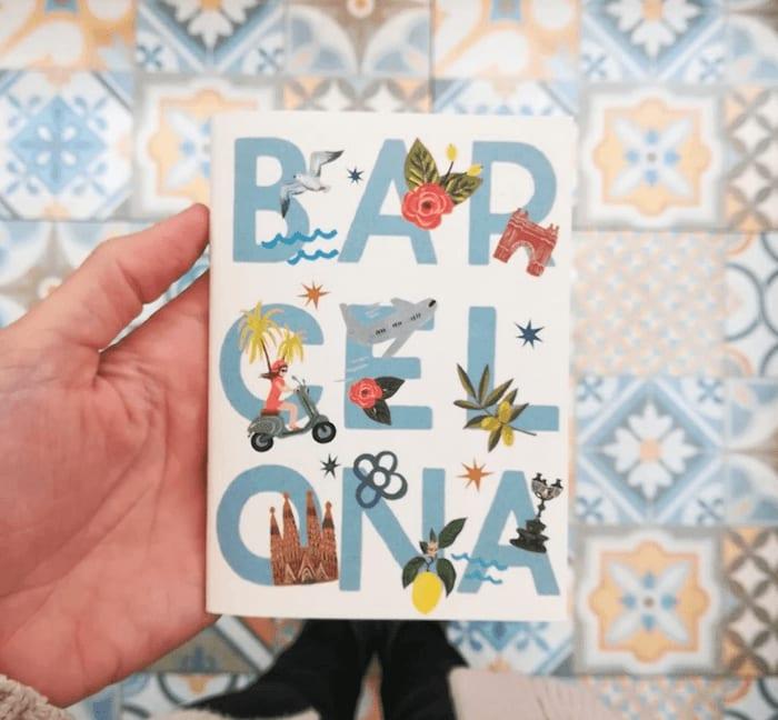 Barcelona gifts- b de barcelona