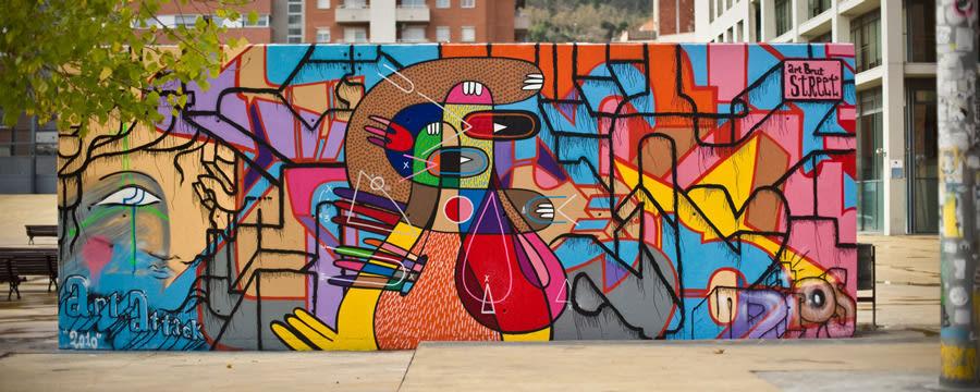 Street art in Barcelona - Raval