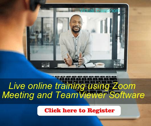 Virtual classroom- Live online training using zoom Abuja, lagos Nigeria Africa