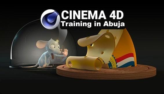 cinema 4d training in Abuja