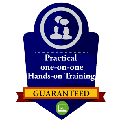 HANDS ON TRAINING GUARANTEED