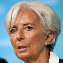 כריסטין לגארד, ראש קרן המטבע (Getty images Israel)
