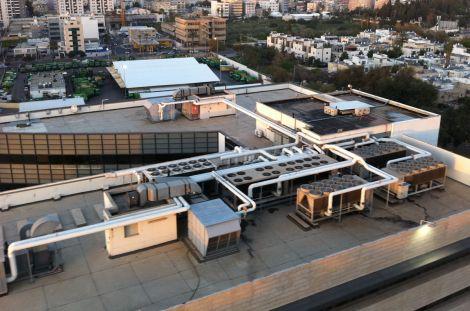 גג בניין צ'ק פוינט