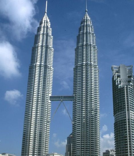 פטרונס טאוורס, מלזיה (קרדיט: CTBUH Antony Wood)