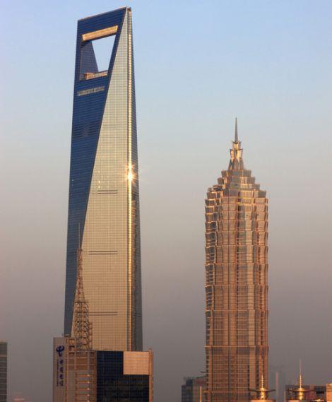 מרכז הסחר העולמי, שנחאי (קרדיט: Kohn Pedersen Fox Associates / CTBUH)