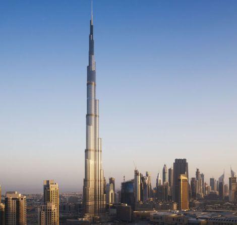 בורג' קאליפה בדובאי, הגבוה בעולם  (קרדיט: SOM / Nick Merrick Hedrich Blessing 2010)